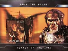 Planet Of The Apes Stamps S/S 2001 Mnh Imitation Sci-Fi Sheet Science Fiction