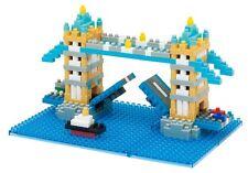Tower Bridge Nanoblock Micro Sized Building Block Construction Toy Mini Kawada