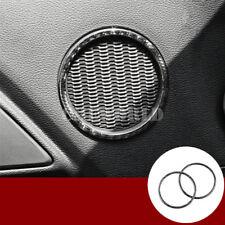 Kohlefaser Innen Tür Lautsprecher Rahmen Blende Für Ford Mustang 2015-2018
