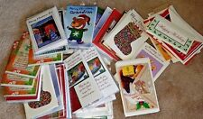 100 Individual Christmas Card Assortment CLOSEOUT!  Send or Craft!  NICE AND NEW