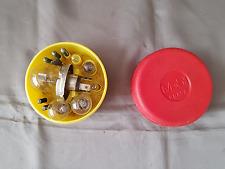 Bulb pots lights holder Mobil gasoline Ferrari 250 275 365 Lamborghini Maserati