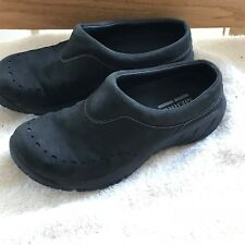 Merrell Women's Black Leather Mules Shoes  Size 5 M