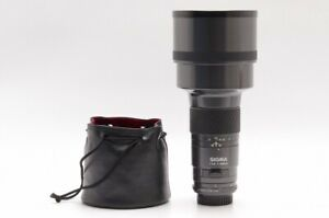 """""""Read"""" Sigma 300mm F2.8 APO AF Telephoto Lens For Pentax K w/ Case From JP #7351"""