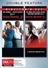 Lethal Weapon 3 & 4 (DVD, 2006, 2-Disc Set) Danny Glover, Mel Gibson