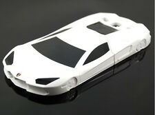 Luxurious White Sports Car Hard Case for SAMSUNG GALAXY S3 I9300