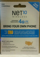 Net10 LTE Nano SIM Card - Includes FREE month of $40 plan! No Contract! 8GB Data