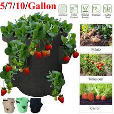 Planting Grow Bag Potato Strawberry Vegetable Planter Bag Pot Garden Supplies US