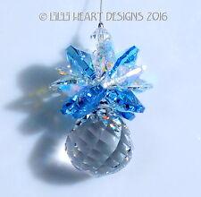 m/w Swarovski 20mm Mozart Ball Pineapple AQUA AB Suncatcher Lilli Heart Designs
