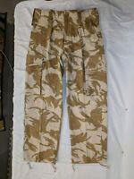 NWOTs Genuine British Military Dessert DPM Lightwieght Combat Trousers 72/80/96