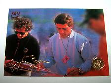 Ayrton Senna | 1989 Monaco F1 | Formula 1 Gold Signature Card