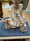 Vintage Traditions Angel Tree Top -Centerpiece With 2 Angel Ornaments Item 45239