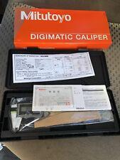 MITUTOYO 500-474 Absolute Solar Digital Caliper, 0 to 6 In
