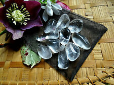 52-Pochette de 10 cristaux de roche 2/2,5cms-Reiki-Feng shui