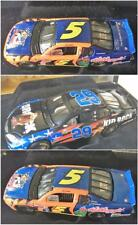 RCCA Elite LE 1/64 Lot 3 Diecast Race Cars Labonte Kellogg Stewart Kid Rock NIB