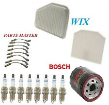Tune Up Kit Filters Wire Spark Plug For CHEVROLET CAPRICE V8 6.0L 2011-2014