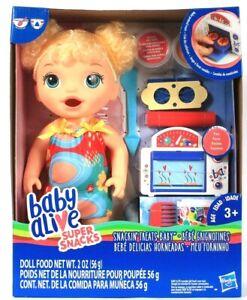 Hasbro Baby Alive Super Snacks Snackin Treats Baby Makes Pretend Treats Age 3 Up