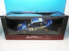 AUTO ART SUBARU IMPREZA WRC 99 R BURNS / R REID #5 89992 1/18