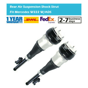 2x Rear Air Suspension Shock Struts Fit Mercedes S-Class W222 Maybach S350 S500