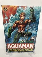 Aquaman A Celebration of 75 Years DC Comics HC Hard Cover New Sealed