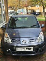 Nissan pixo automatic 1.0l grey only 14669 miles 1 year MOT