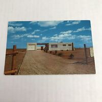 The Valley Of The Estancia Ranchettes Subdivision House Advertising Postcard