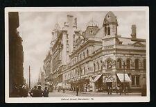 Lancashire Lancs MANCHESTER Oxford St Palace Theatre tram #929 c1900/10s? RP PPC