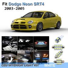 For 2003-2005 Dodge Neon SRT4 Xenon White LED Interior Lights Kit 7 Pieces