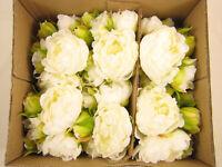 6x Wholesale Artificial Flowers Peony Wedding Bridal Bouquet Posy Decoration
