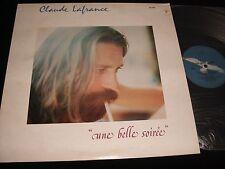 CLAUDE LAFRANCE<>UNE BELLE SOIRÉE<>Lp VINYL~Canada Pressing~DISQUES BLEU KD 918