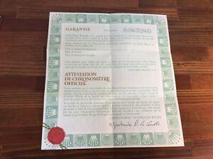 Rolex Blank Certificate Guarantee Paper 570.02.200 + Free Shipping