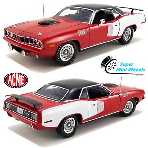 ACME 1:18 - 1971 Plymouth Hemi Barracuda (Red) - A1806121