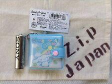 Sanrio Cinnamoroll Mini Vinly Wallet type Mirror with chain kawaii Cute F/S NEW