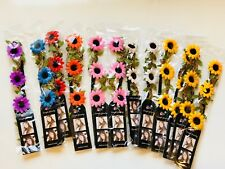 12pcs Flowers Headband Hair Garland Wedding Headpiece