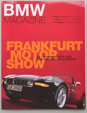 BMW Z8 Premiere BMW Magazin IAA 1999 - 132 Seiten - Sonderausgabe - englisch