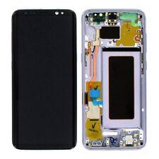 Affichage Full LCD Ensemble complet GH97-20457C Mauve pour Samsung Galaxy S8