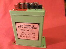 Ohio Semitronics Current Transducer Model CT 5-1