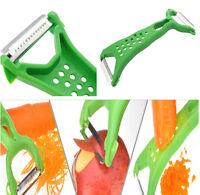 Cutter Slicer Kitchen dual Tools Gadgets Vegetable Fruit Peeler Parer Julienne u