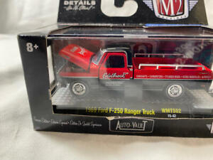 M2 Machines 1969 Ford F-250 Ranger Truck Edelbrock Shop Truck Premium Edition