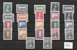 (K01) TURKEY/1930 - LONDON SERIES COMPLETE SET, MH, Mi#891/912 SC#682/704