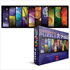 JIGSAW EG60050308 	 Eurographics Puzzle 750 Pc - The Solar System (Panorama)