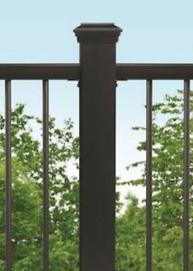 Trex 4-in x 4-in  x 48-in Charcoal Black Composite Deck Post Sleeve 119549 New