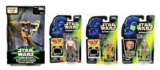 Star Wars POTF2 STAP Battle Droid, HAN CARBONITE, BIGGS, TARKIN Lot of 4 Kenner