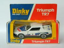 DINKY TOYS MECCANO BOXED DIECAST #211 TRIUMPH TR7 SPORTS CAR 1975 RALLY VERSIO