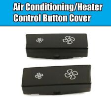 2x (1+1) Set For BMW 5Series F10 F11 Air Conditioning Heat Control Button Cover