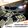 BMW BAX9S H6W 433 LED CANBUS 14 SMD CREE BRIGHT WHITE CAR DRL SIDE LIGHT BULBS