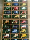 LLEDO PROMOTIONAL SET OF 30 DIECAST  FORD MODEL T VANS in TWO CABINETS