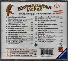 Kindergartenlieder - Bewegungs-,Spass- und Märchenlieder  *CD*    NEU&OVP