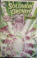 Solomon Grundy #4 VF 1st Print DC Comics