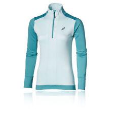 Abbigliamento sportivo da donna caldo blu manica lunga
