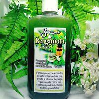 shampoo de la ABUELA de BERGAMOTA, NEEM & hiervas 100% NATURAL / CAIDA CABELLO